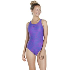 speedo Boom Allover Muscleback - Maillot de bain Femme - violet